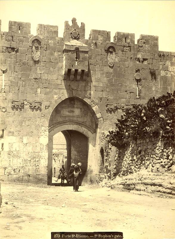Porte St Etienne St. Stephen's Gate Bonfils circa 1880