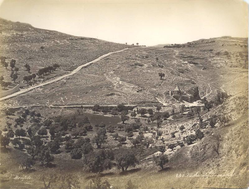 Vallée de Josaphat, by Felix Bonfils ca. 1870