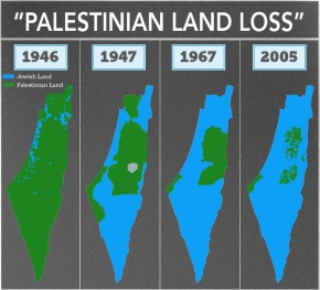 "MSNBC apologizes for embarrassing and false ""Palestinian losses of land"" map"